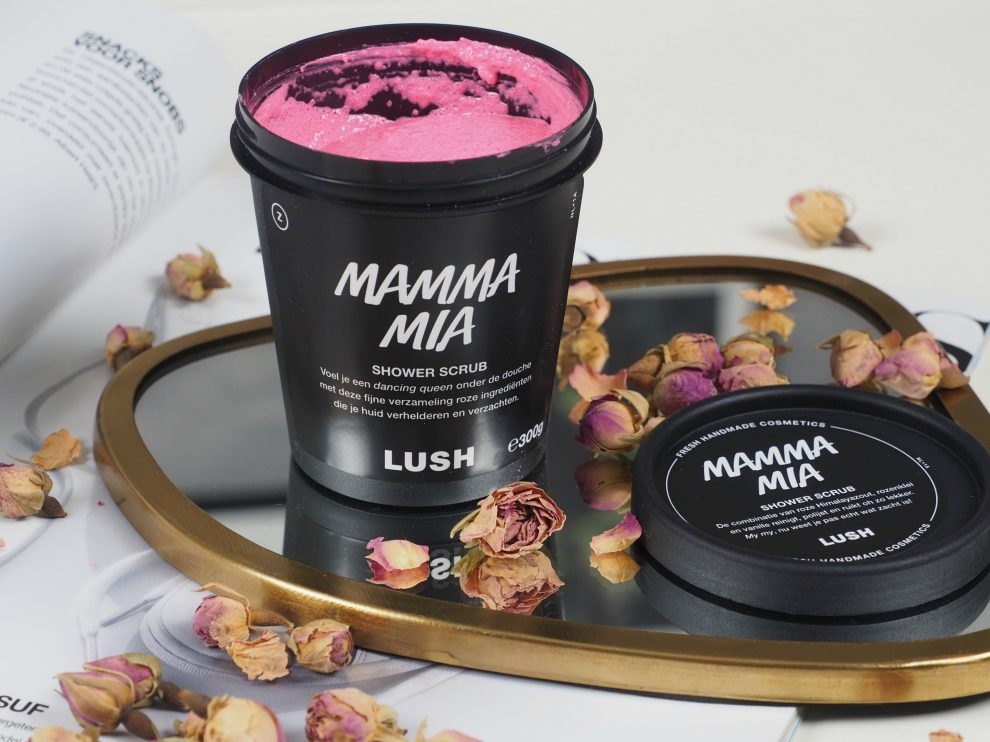 Lush Mama Mia Shower Scrub