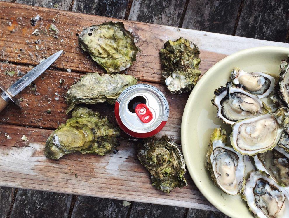 oesters eten