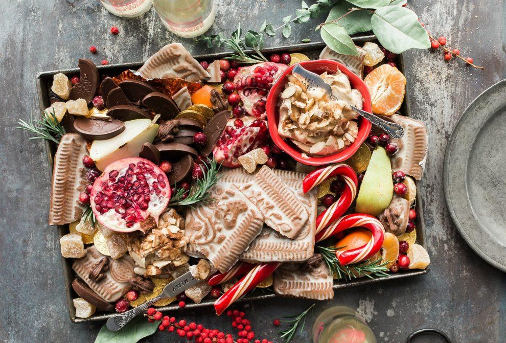 kerst met een kleine keuken