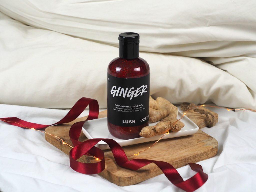 lush ginger showergel