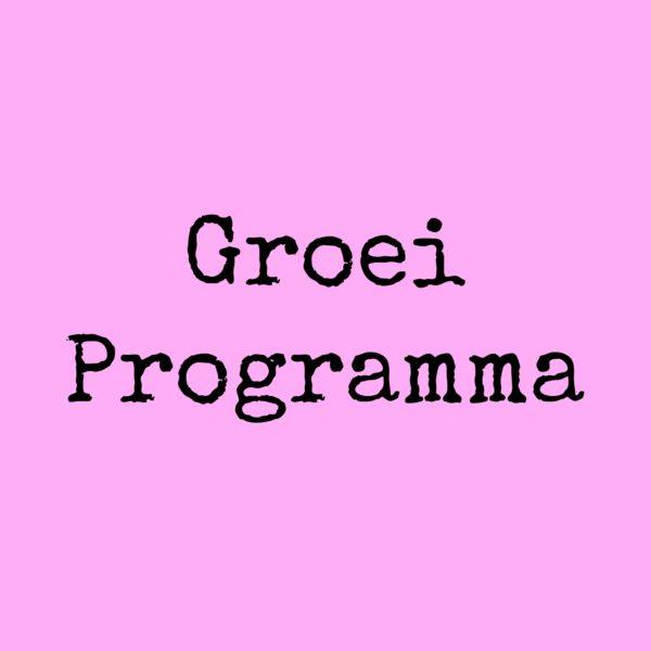 Groeiprogramma