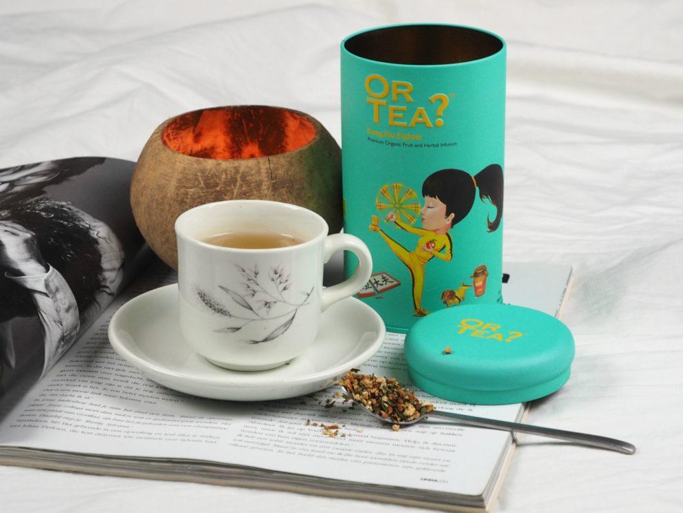 or tea kong flu