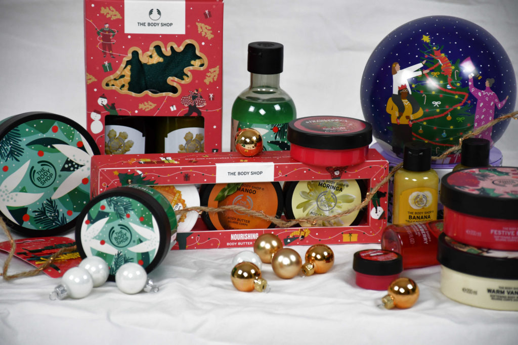 body shop kerstcadeau´s