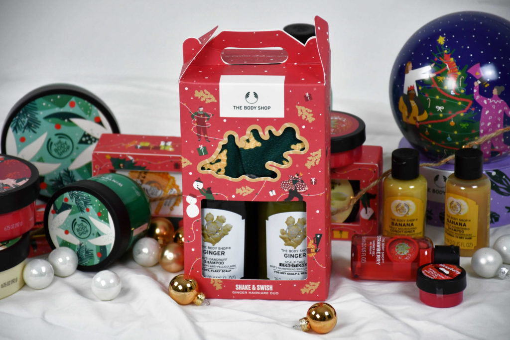 body shop kerstcadeaus