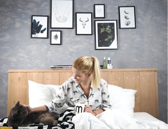 slaapkamer make-over